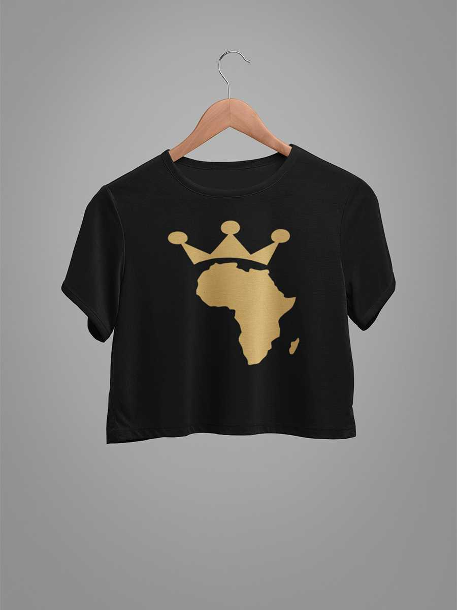 Queen  of Africa croptop