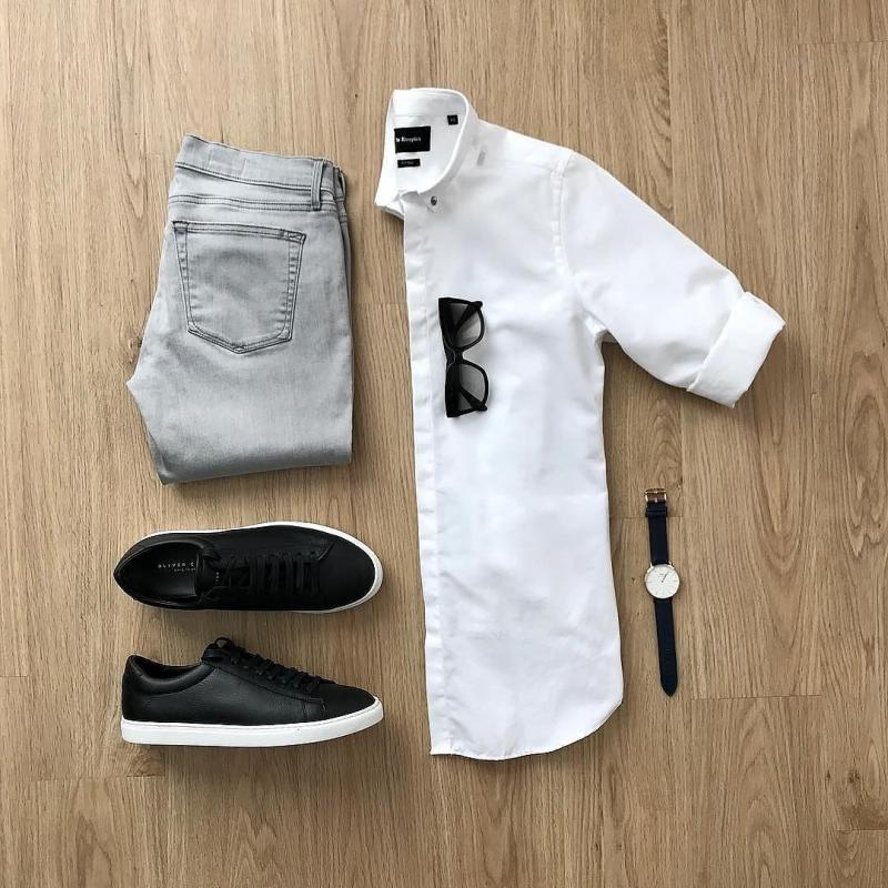 Styling  White Dress Shirts  With Jeans/chinos